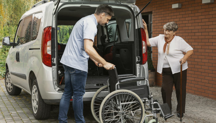 Driving Services for the Elderly