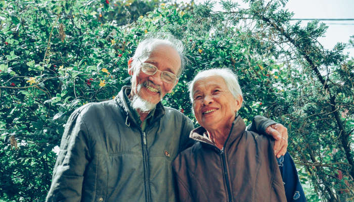 The healing power of nature for senior citizens
