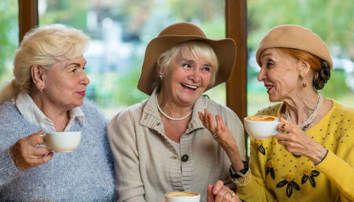 Ideas for helping a senior loved one stay social