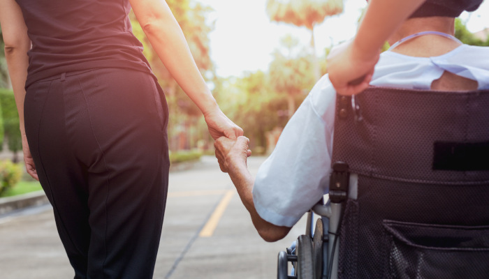 A caregiver realizes they don't have to commit to caregiving alone