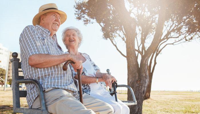 Seniors avoid the summer heat