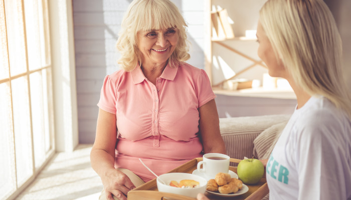 Helping a senior who is refusing to eat