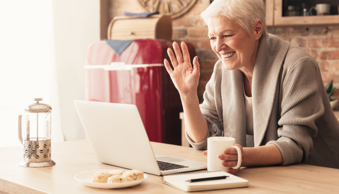 Helping Your Senior Loved One Stay Connected Remotely, Using Remote Technology