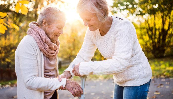 Helping Seniors Manage Balance Issues