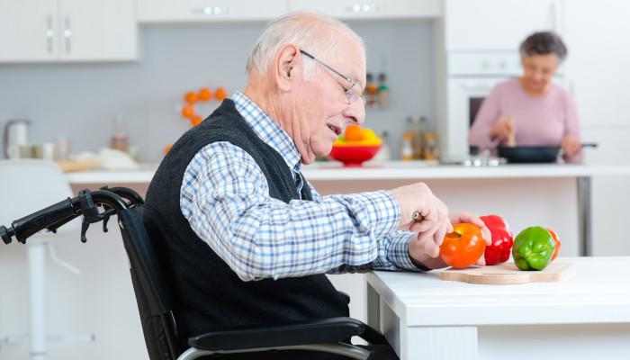 Making a kitchen safer for the elderly