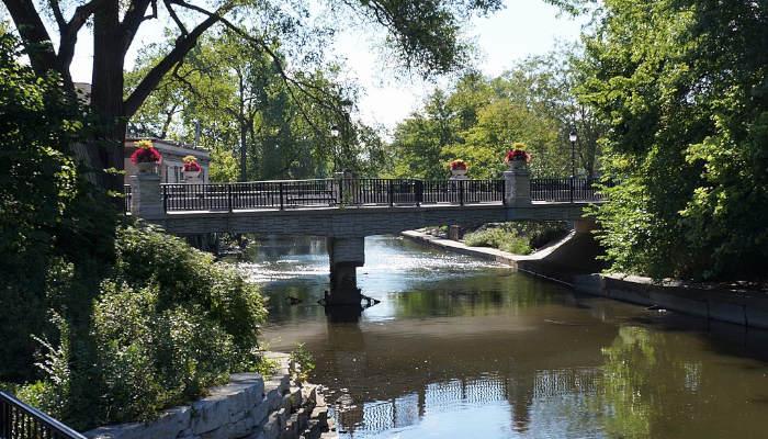 The Naperville Riverwalk